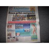 Diario El Argentino Boca Campeon 2011 - No Envio