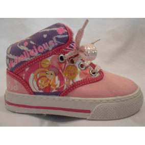 Tenis Para Niña Phineas Candace Rosa Num 17 Y 20