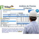 Sistema Análisis Precios Unitarios Con Inflación - Ver Video