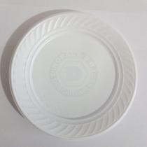 Platos Plasticos Descartables 17cm. X 25un. Blancos