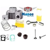 Kit Motor Titan/bros 150 +(biela/valvula/retentor/juntas)