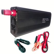 Inversor Conversor Energia Automotivo 2000w 12v Para 110v