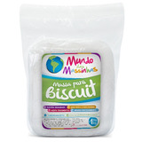 Massa De Biscuit Mundo Das Massinhas Natural 1kg