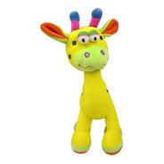Chocalho De Pelúcia - Minha Primeira Girafinha -  Playgro