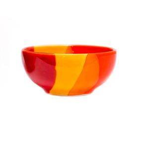 Bowl De Ceramica Artesanal Positano Naranja