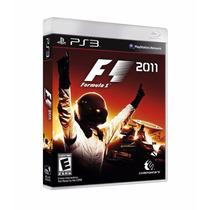 Jogo Corrida Lacrado Fórmula F1 2011 Para Playstation 3 Ps3