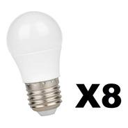 Lámpara Gota Led 5w Guirnalda Interelec Fría Cálida