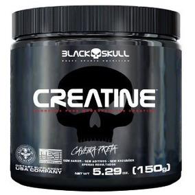 Creatine 150g - Black Skull - 100% Pure Creatine