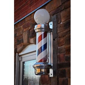 Barber Pole - Poste De Barbeiro (70cm X 20cm) + Brinde