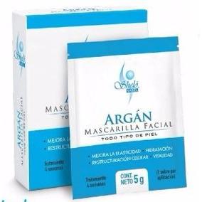 Mascarilla Facial De Argán Shelo Nabel + Envío Gratis@12msi