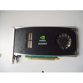 Placa De Vídeo Nvidia Quadro Fx1800 768mb Ddr3 Pci Express