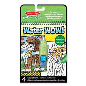 Melissa & Doug Water Wow!® Libro Con Dibujos Para Colorear X