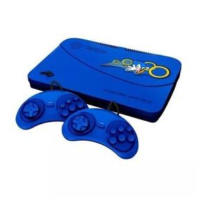 Master System Evolution - Blue - 132 Jogos Novo Lacrado Nfe