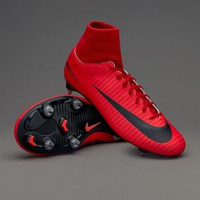 Chuteira Nike Mercurial 6 Travas/ Vermelha