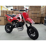 Mini Moto Cross Gasolina 49cc 2t, Partida Easy Pull Starter