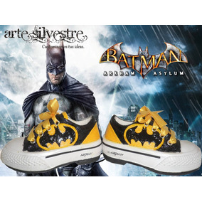 Zapatillas Pintadas/customizadas Personalizadas Batman