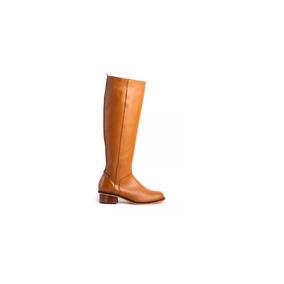 Natacha Zapato Mujer Bota Baja De Montar Cuero Suela #221