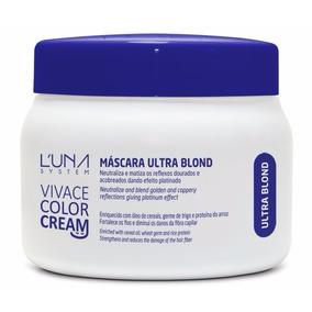 Máscara Matizadora Ultra Blond Luna System 250ml