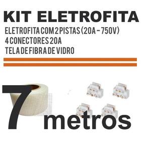 Kit Fita Elétrica 2 Pistas (20 A) - 7 Metros. Eletrofita
