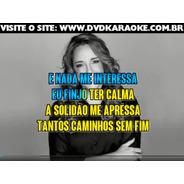 Dvd Karaoke Ana Carolina - Karaoke Para Aparelho De Dvd
