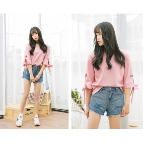 Blusa Moda Coreana Ullzang-sob Encomenda-frete Gratis