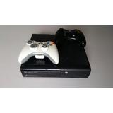 Consola Xbox360 Slim Con Chip Rgh 2018 2 Controles 42 Juegos
