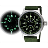 Reloj Militar Alemán Piloto Observador Automático Nuevo