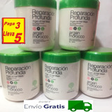 Pack De 5 Cremas Argan 1 Kilo / Envió Gratis