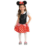 Disfaz Minnie Roja De Disney Disfraces Niñas Micky Mouse