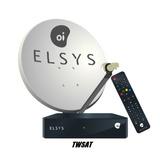 Kit Oi Livre Original Elsys Logo Oi Receptor Antena Lnb