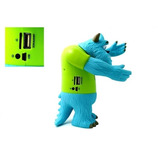 Parlante Recargable Con Radio Usb Figura Anumada Monster