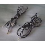 Cables Telefónicos Con Conector Rj-11 En Cada Extremo