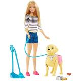 Barbies, Cachorros Recien Nacidos/ Pasea Perros/ Babysitter