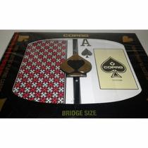 Naipes Poker Copag, Plastico 100%
