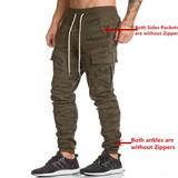 Everworth Hombre S Camo Casual Joggers Pantalones Entre. 662c55013da6