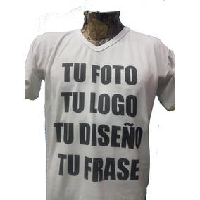 Remera Personalizada Estampada Sublimada Tu Logo Imagen Foto