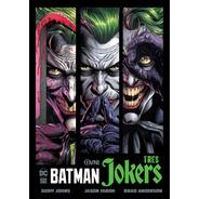 Cómic, Dc, Batman: Tres Jokers Ovni Press