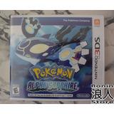 Pokemon Alfa Sapphire - Nintendo 3ds - Ronin Store - Rosario
