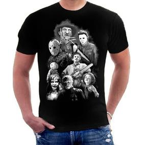 Camisa Filmes De Terror Assassinos