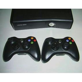 Xbox Slim 2 Controles + 3 Jogos A Sua Escolha