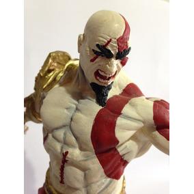 Boneco Kratos God Of War Em Resina Pintado A Mão