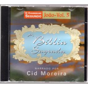 Cd Cid Moreira A Bíblia Sagrada (lote De 11 Cds) Original
