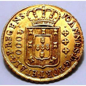 Moeda De Ouro 4000 Reis 1811 - Original - Soberba Rara O571