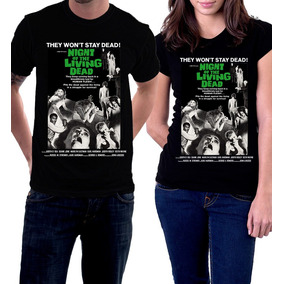 Camiseta A Noite Dos Mortos Vivos George Romero Zumbi Terror