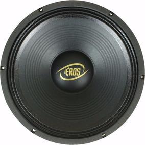 Alto Falante Eros 12 Polegadas E-450lc Black 4ohms 450w Rms