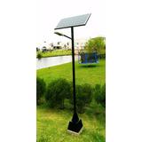 Poste De Iluminação Pública Solar 24 Watts