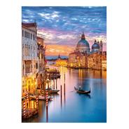 Venecia Gran Canal Al Atardecer 500p Rompecabezas Clementoni