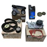 Kit Distribucion Duster 1.6 16v K4m Bomba Tapones Kit Poly V