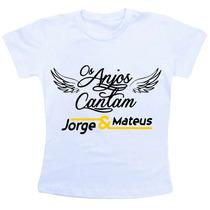 Camiseta Baby Look Feminina - Jorge E Mateus 2