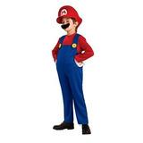 Disfraz Niño Super Mario Brothers, Mario Del Traje De Lujo,